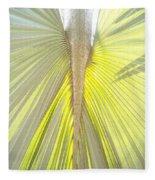 Under The Palm I Gp Fleece Blanket