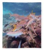 Under Water Fiji Fleece Blanket