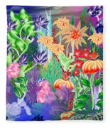 Under Water Fleece Blanket