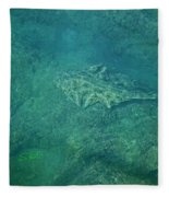 Under Water View Fleece Blanket