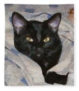 Undercover Kitten Fleece Blanket