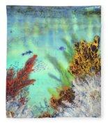 Underwater #2 Fleece Blanket