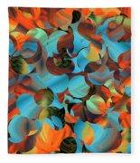 Underwater Fantasia Fleece Blanket