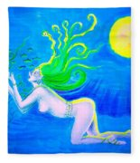 Underwater Fantasy Fleece Blanket
