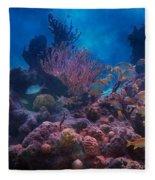 Underwater Paradise Fleece Blanket