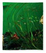 Underwater Wonderland  Diving The Reef Series. Fleece Blanket