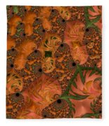 Underwater World - Series #40 Fleece Blanket