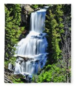 Undine Falls Fleece Blanket