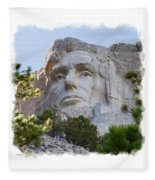 Unfinished Lincoln 3 Fleece Blanket