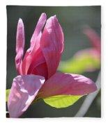 Unfolding - Star Magnolia Fleece Blanket