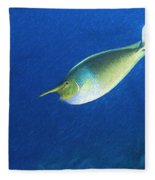 Unicorn Fish 2 Fleece Blanket