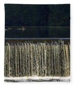 Unicorn Lake Fleece Blanket