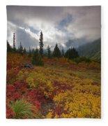 Unicorn Peak Fleece Blanket