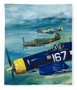 Unidentified Aircraft Fleece Blanket