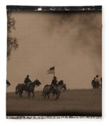 Union Cavalry Charge Fleece Blanket