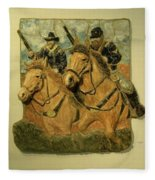 Union Cavalry Fleece Blanket