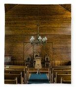 Union Christian Church Sanctuary Fleece Blanket