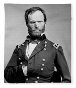 Union General William Tecumseh Sherman 1865 Fleece Blanket