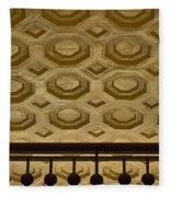 Union Station Ceiling #2 Fleece Blanket
