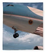 United States Air Force One Fleece Blanket