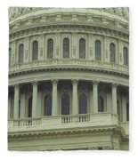 United States Capitol Building Fleece Blanket
