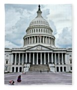United States Capitol Fleece Blanket