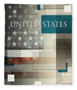 United States Fleece Blanket
