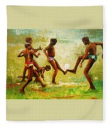 Unity In Diversity  Fleece Blanket