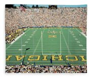 University Of Michigan Stadium, Ann Fleece Blanket
