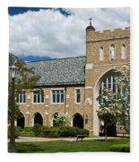 University Of Notre Dame Law School Fleece Blanket