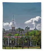 University Of Tampa Fleece Blanket