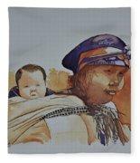 Unknown Circa 1942-1959 Fleece Blanket