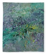 Blind Giverny Fleece Blanket