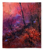 Unset In The Wood Fleece Blanket