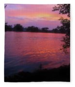 Until December Fleece Blanket