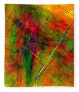 Untitled 0123-10 Fleece Blanket