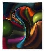 Untitled 4-10-10-a Fleece Blanket