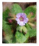 Untitled Floral -1 Fleece Blanket