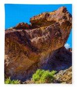 Unusual Rock California Fleece Blanket