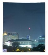 Up Town Cebu City Lights Fleece Blanket