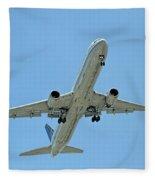 Up Up And Away Fleece Blanket