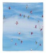 Up, Up And Away Fleece Blanket