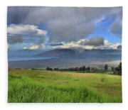 Upcountry Maui Fleece Blanket