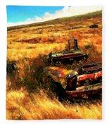 Upcountry Wreck Fleece Blanket