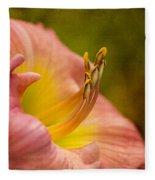 Uplifting Lily Fleece Blanket