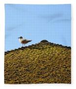 Upon The Roof Fleece Blanket