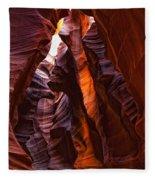 Upper Antelope Canyon, Arizona Fleece Blanket