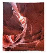 Upper Antelope Lights Fleece Blanket