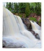 Upper Gooseberry Falls Fleece Blanket