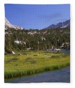 Upper Pine Lake Fleece Blanket